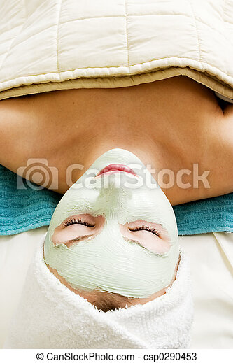 Facial Mask Relaxation - csp0290453