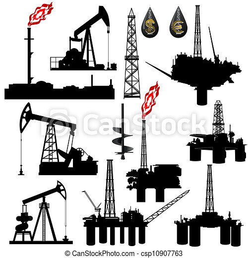 Facilities for oil production - csp10907763