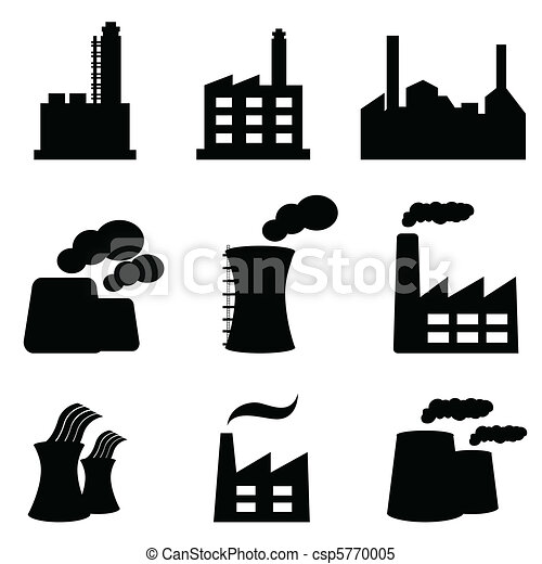 Factories and power plants - csp5770005
