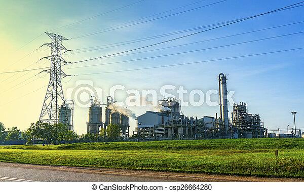 factory building - csp26664280