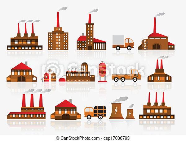 Factory icons - csp17036793