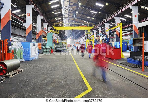 factory indoor - csp3782479