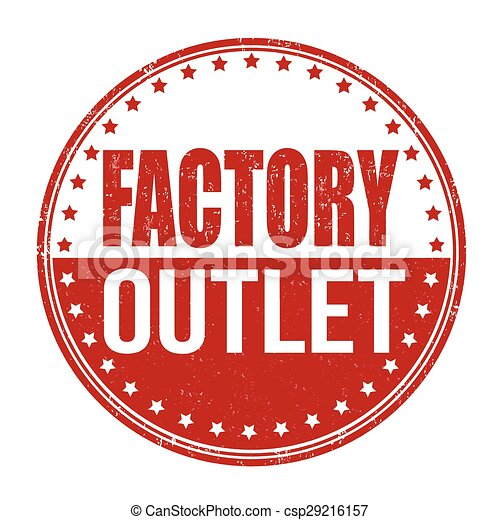 Factory outlet stamp - csp29216157