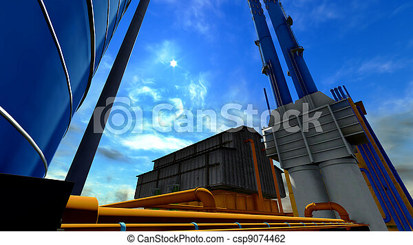 Factory - csp9074462