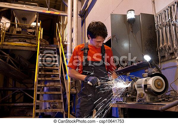 Factory worker - csp10641753