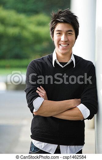 faculdade, asiático, estudante - csp1462584