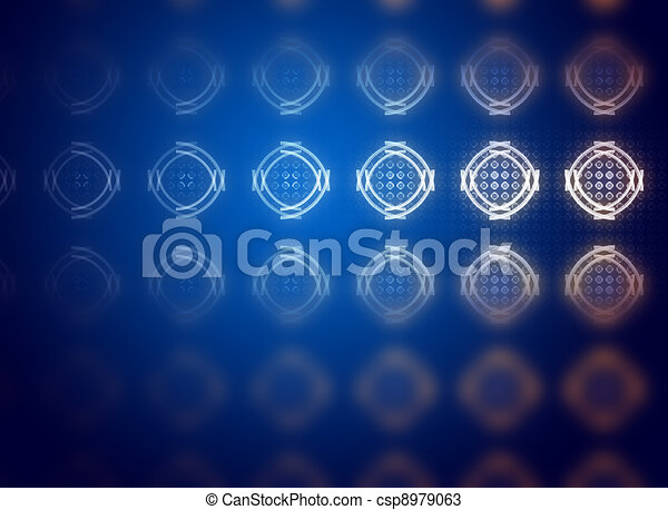 Fade blue, abstract background for creative design - csp8979063