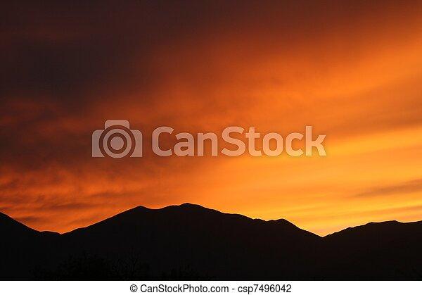 Fading daylight - csp7496042