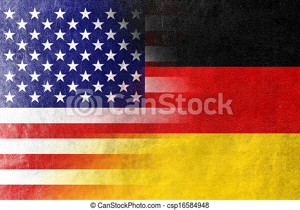 fahne deutschland usa usa gemalt beschaffenheit. Black Bedroom Furniture Sets. Home Design Ideas