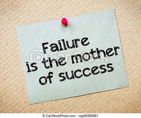 short essay on success and failure Use our tips and strategies for the new common application essay option two on or failure to write a winning essay can be fundamental to later success.