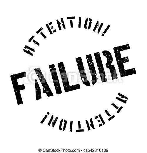 Failure stamp - csp42310189