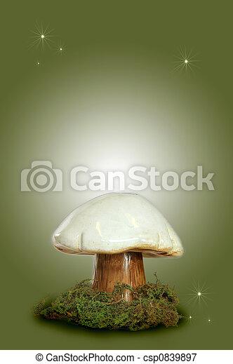 Fairy Fantasy Mushroom - csp0839897
