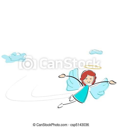 fairy girl - csp5143036