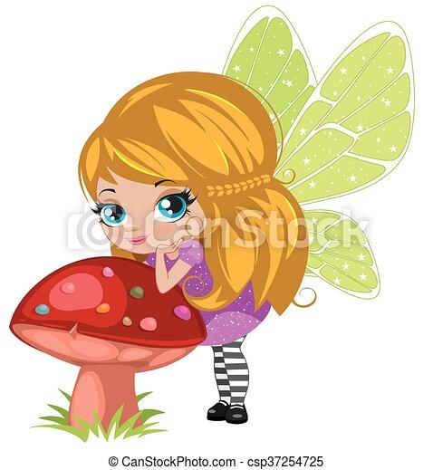 Fairy girl - csp37254725