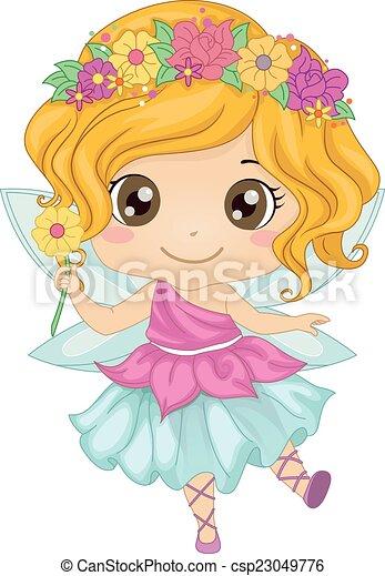 Fairy Girl - csp23049776