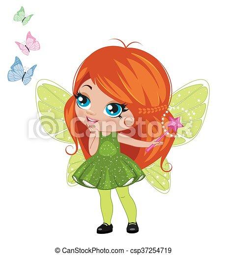 Fairy girl - csp37254719