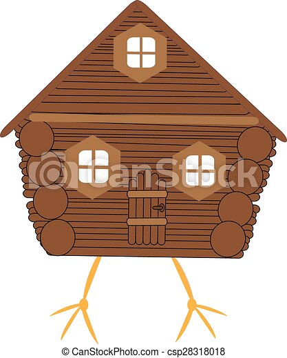 Fairy hut on chicken legs - csp28318018