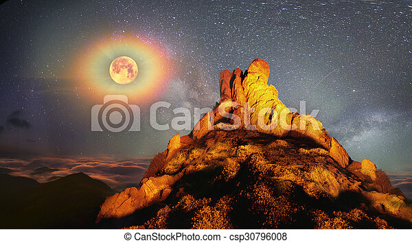 Fairy Mountain - csp30796008