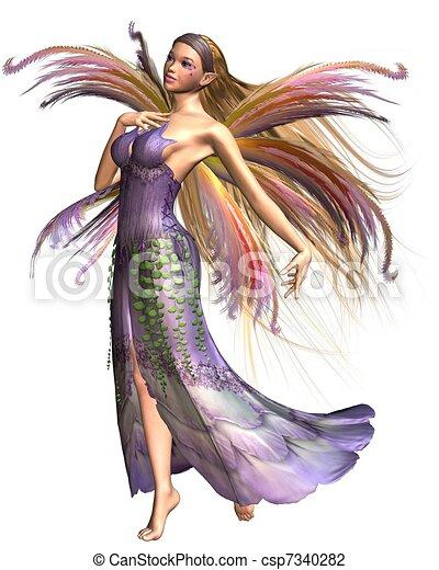Fairy Summer Spirit - csp7340282