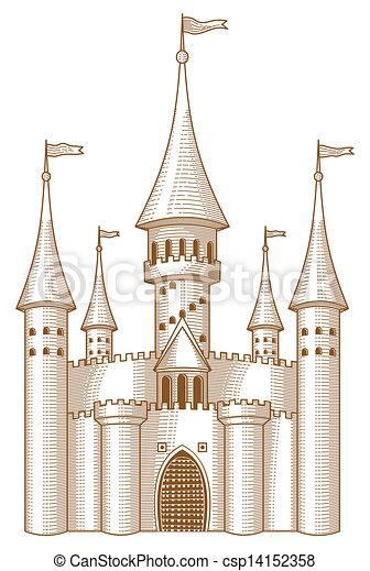 Fairy-tale castle - csp14152358