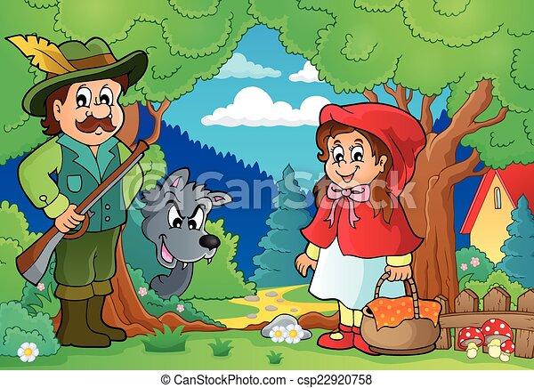 Fairy tale theme image 2 - csp22920758