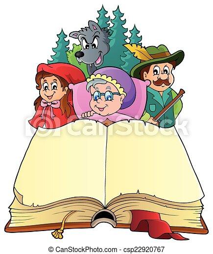 Fairy tale theme image 3 - csp22920767