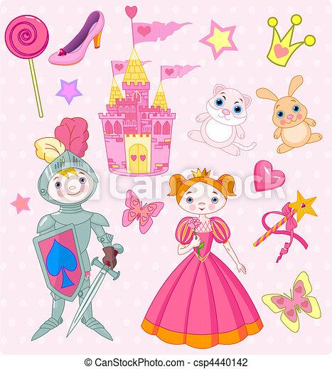Fairy Tale Vector Elements - csp4440142