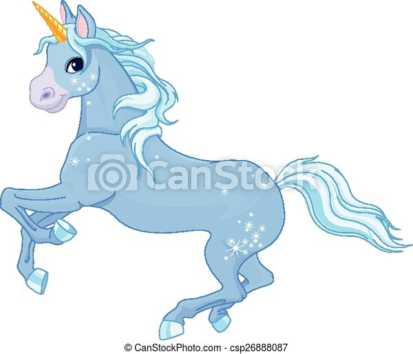 Fairy unicorn - csp26888087