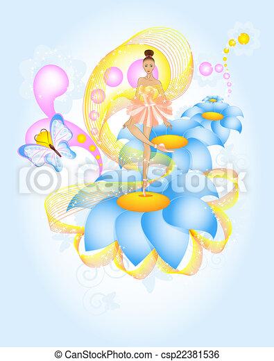 fairytale, balé - csp22381536