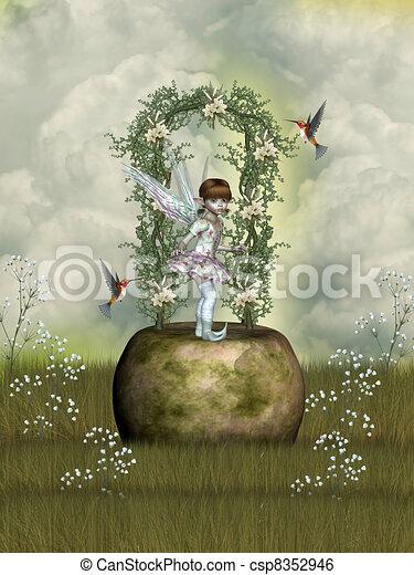 fairytale - csp8352946
