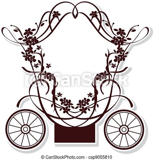 fairytale, carruagem - csp9055810