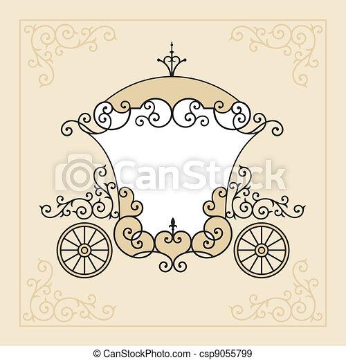 fairytale, carruagem - csp9055799