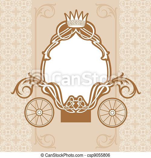 fairytale, carruagem - csp9055806