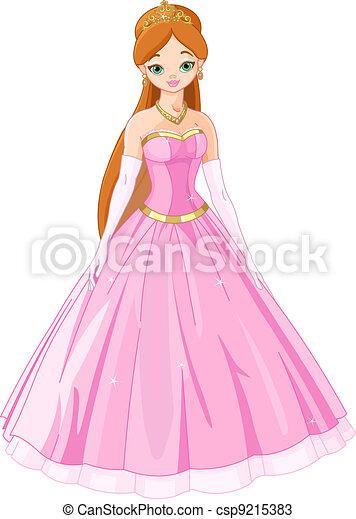 Fairytale  princess - csp9215383