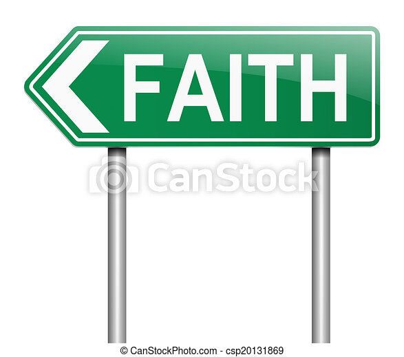 Faith concept. - csp20131869