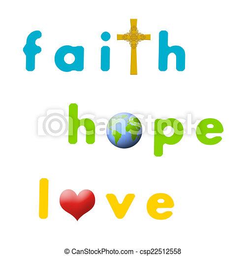 Faith Hope Love Sign For Faith Hope And Love