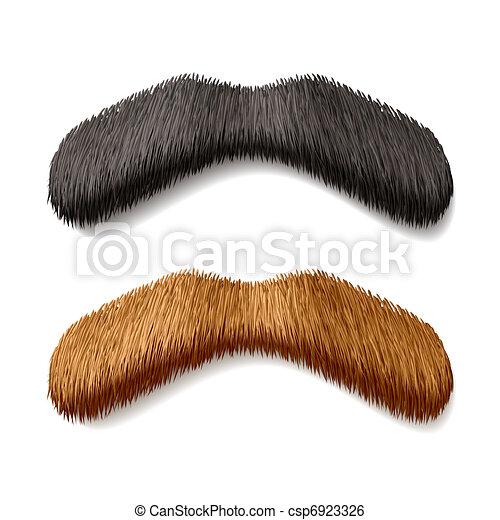 Fake mustaches - csp6923326