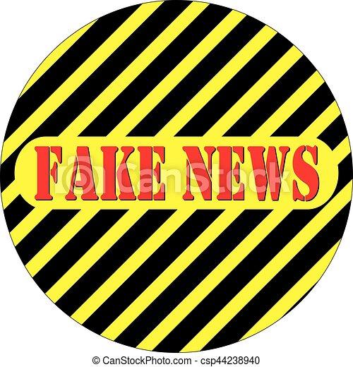 Fake news - csp44238940