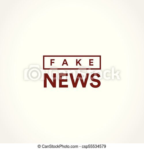 Fake news icon. disclosure of classified information. minimalistic ...
