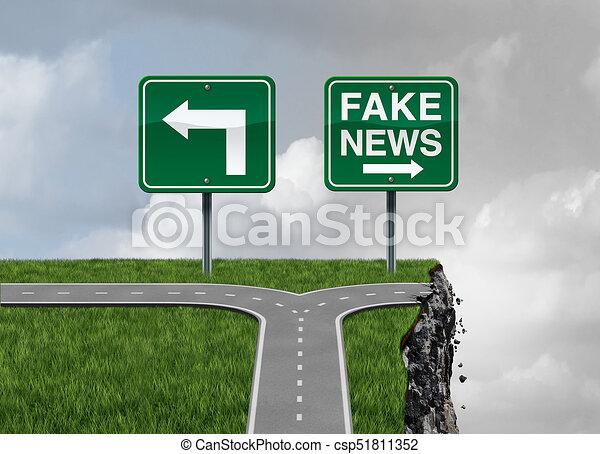 Fake News Risk - csp51811352
