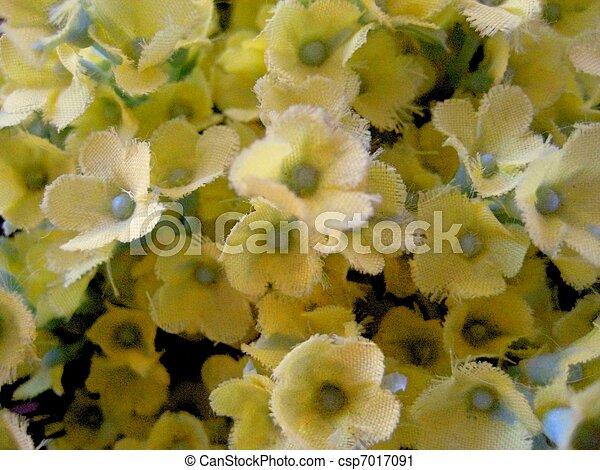 Fake yellow flowers with lightblue buds fake yellow flowers with lightblue buds csp7017091 mightylinksfo