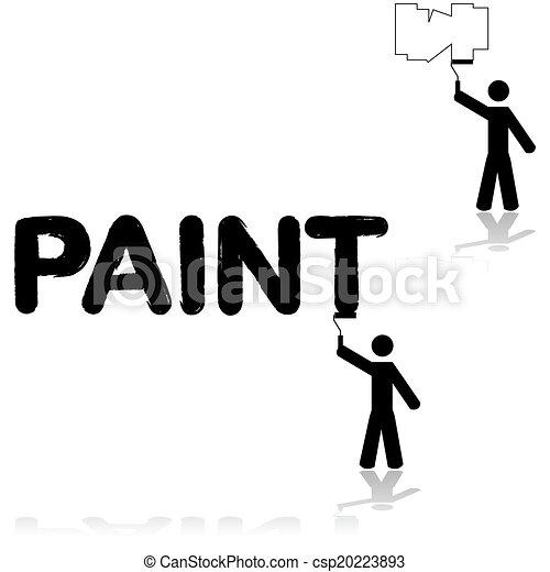 fal, szobafestő - csp20223893