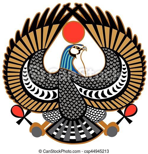 Falcon Symbol Of Horus Falcon Ancient Egyptian Symbol Of God Horus