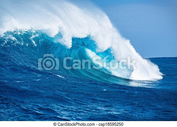 falistość oceanu - csp18595250