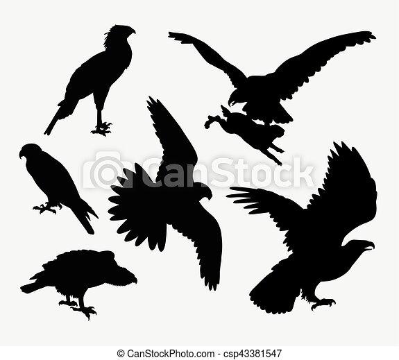 falk silhuett örn falk fågel use märke design