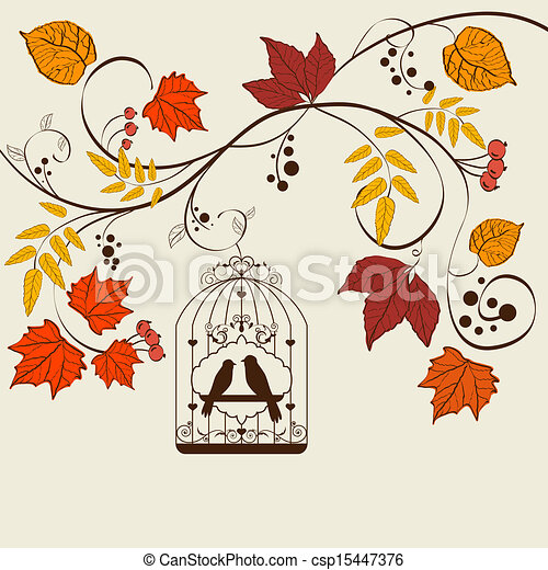 Fall background - csp15447376