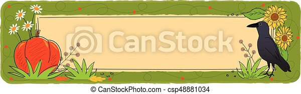 Fall Banner - csp48881034