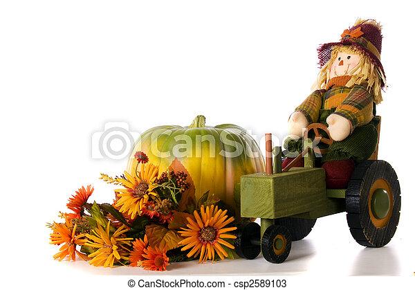 Fall Colors Still-Life - csp2589103