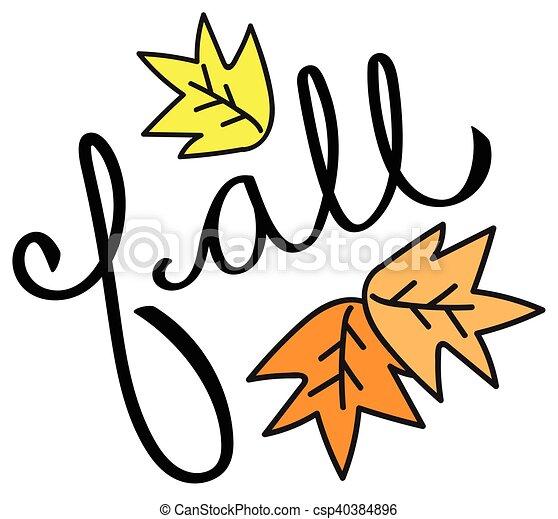 Fall - csp40384896