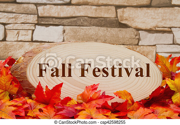 Fall Festival message - csp42598255